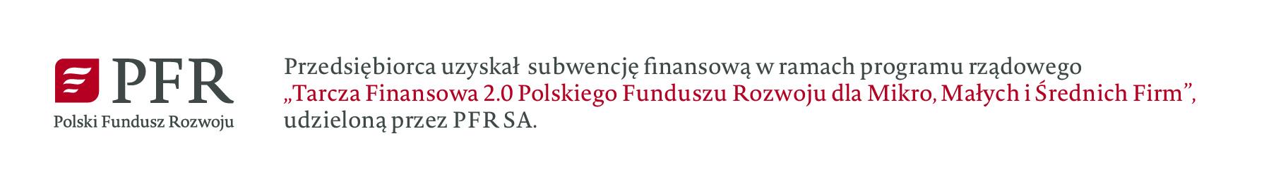 PFR subwencja